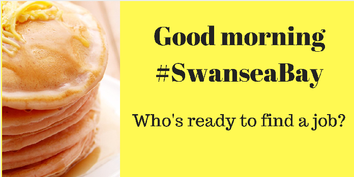 Good morning! For #Jobs, #Events and #Advice follows us @JCPinSwanseaBay