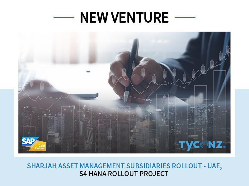 New member joining the TYCONZ Family!  Welcoming on-board, Sharjah Asset Management Holding who signed for S4 HANA Success Rollout Project... #SAP #SAPPartner #TYCONZ<br>http://pic.twitter.com/zBeMjdm7Rz