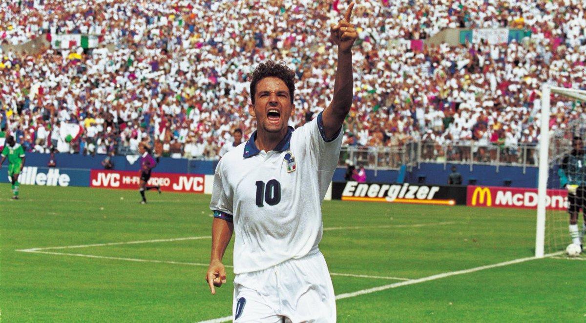 Pele: 'One of the greatest ever.' Guardiola: 'I played with Laudrup, Romario, Ronaldo, Stoichkov but I never saw anyone like him.' Buffon: 'The best Italian player of the last 30 years.' Sacchi: 'I wouldn't swap him for Maradona.'  Happy birthday, Roberto Baggio.