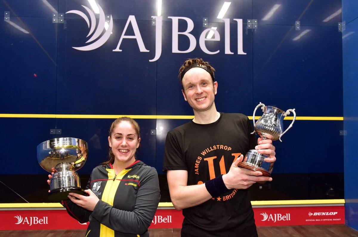 test Twitter Media - There was @NationalsSquash glory for @james_willstrop and @tesnievans in Nottingham over the weekend! 🏆🏴🏴  https://t.co/PjiXaK1qrX https://t.co/PI0zomUwNT