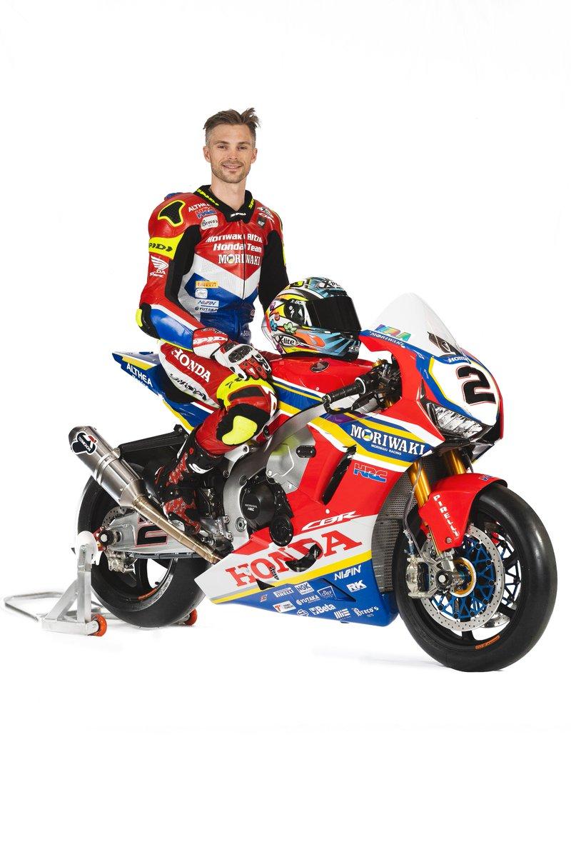 Check out @leoncamier and @kiyonariryuichi and their Moriwaki Althea Honda Team CBR1000RR SP2 Fireblades <br>http://pic.twitter.com/JUzQt1pz0U