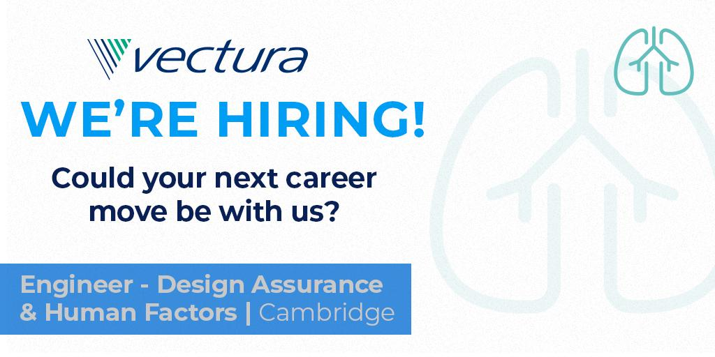 Vectura Group On Twitter Fancy Working With Medical Devices Experts And Using Your Engineering Skills To Improve Patients Lives We Re Hiring A Design Assurance And Human Factors Engineer In Cambridge Details Here