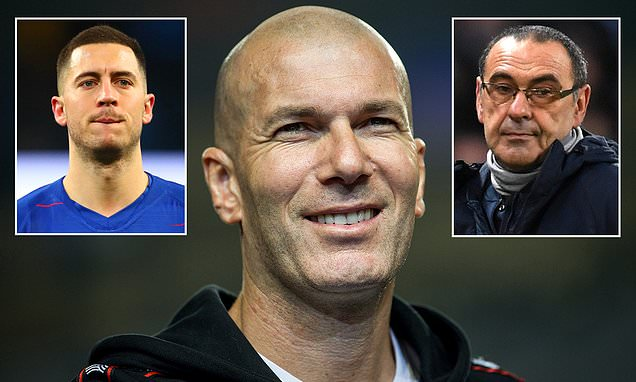 Zinedine Zidane only interested in Chelsea job if club keep Eden Hazard and give him £200m transfer budget  https://t.co/sJuTMMw3wA