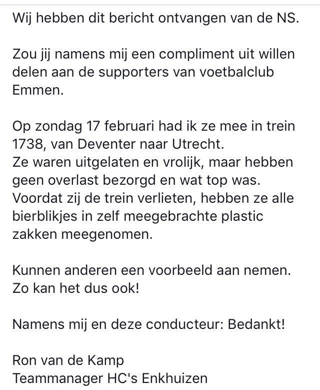 Awaydays NL's photo on fc emmen