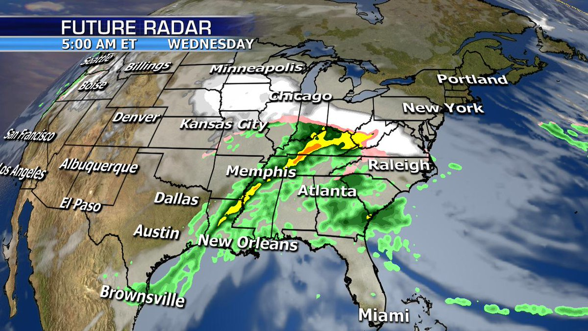 Much of the country will be active this week with headlines for the Southeast where heavy rain is the story. Snow will also pile up across the Southern Rockies and more wintry weather for the Midwest and Northeast. Happy Monday my friends!