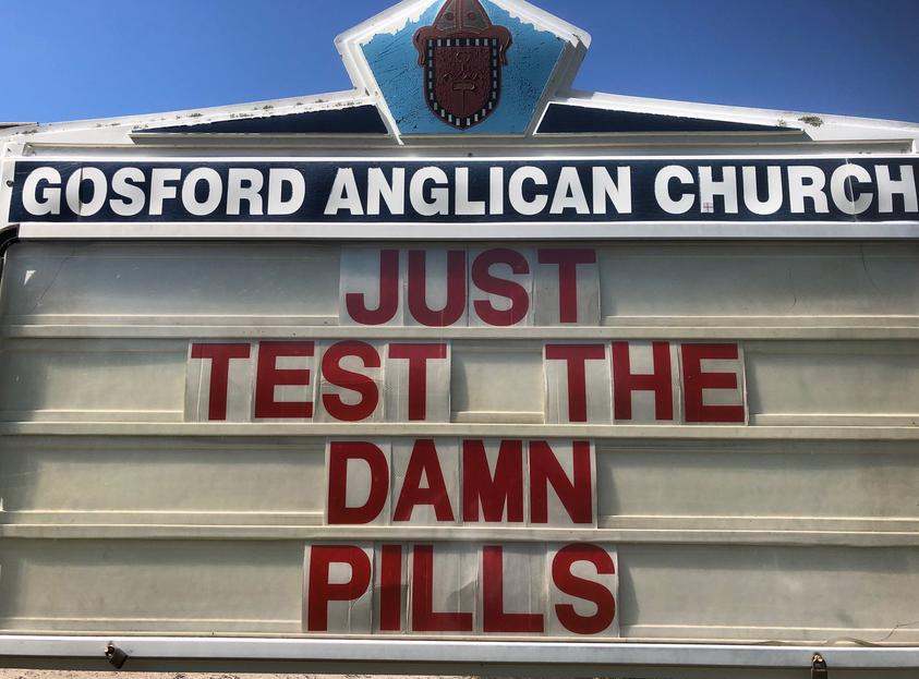 Just test the damn pills #qanda <br>http://pic.twitter.com/BY8IlIWow4