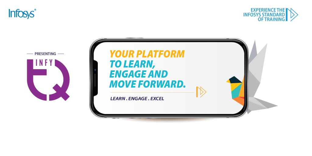Presenting InfyTQ – Infosys next-generation learning and engagement platform. Here students can delve deeper into the world of technology, become industry-ready and take the world forward! Know more: https://infy.com/2IuMvaW  #InfyTQ #ForwardWithInfosys