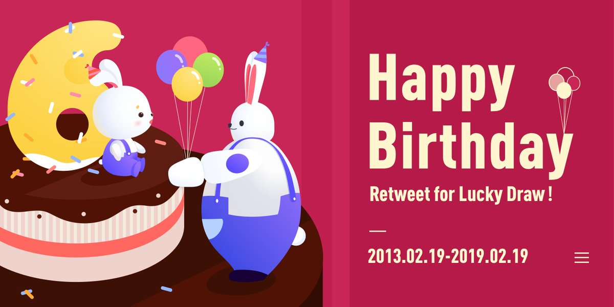 #HappyBirthdayTutu #Giveaway #6thAnniversary #Feb19 Happy Birthday🎂🥳 10 random followers will #WIN 3 months VIP of #TutuApp! How to Win:  1.Blessing 2. Follow @TutuApp_vip  3. RETWEET or LIKE this post  #Competition ends 9am 21/02/2019 Thank you for your all support! https://t.co/McAOp4QcwZ