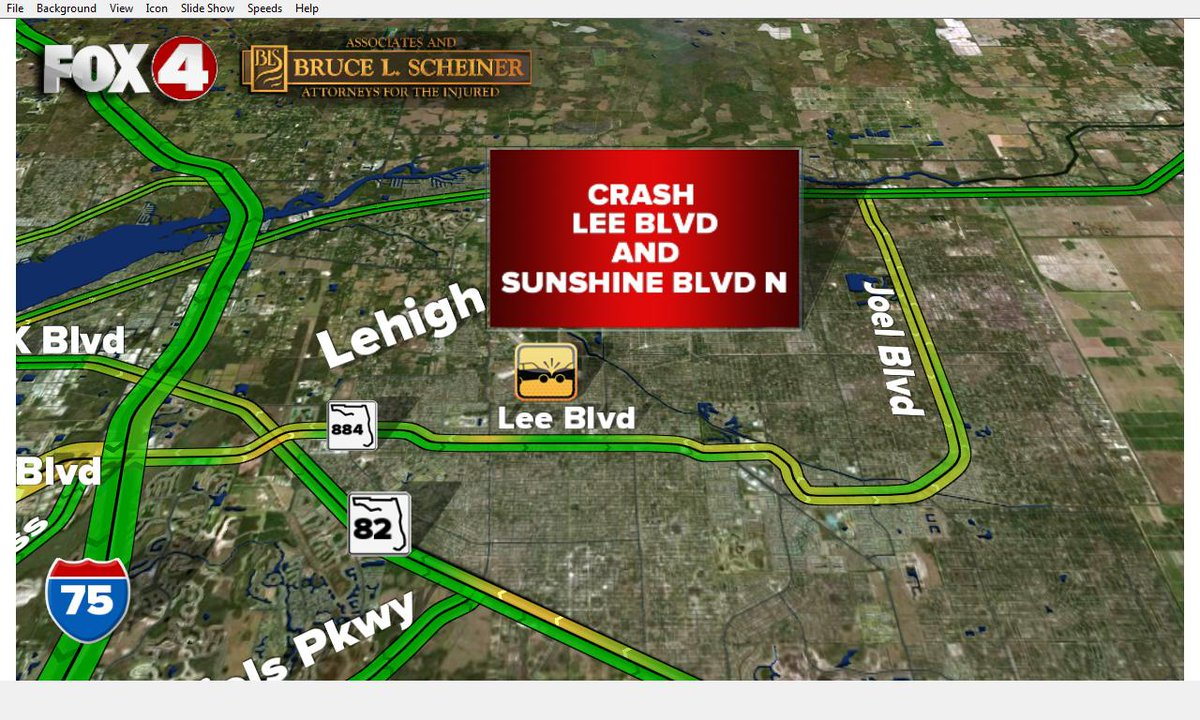 #TRAFFICALERT: @leesheriff is reporting a crash at Lee Blvd. and Sunshine Blvd N. Expect delays #swfl #traffic