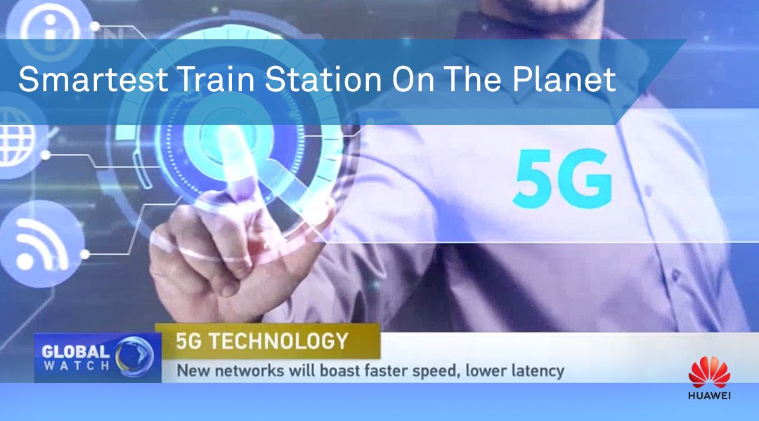 Shanghai Hongqiao Railway Station boasts two firsts after unveiling the #5G digital indoor system, propelling it to the helm of the world's smartest train station. Follow the story at #CGTN:  https://t.co/WOT0i4qy6z