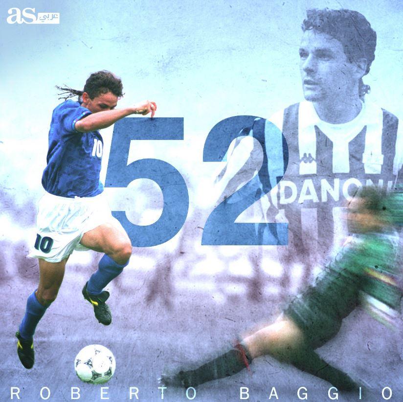 🥳 ¡Muchas felicidades Roberto Baggio!  🧙♂️ El mago que ilusionó a todo un país y conquistó al mundo entero pese a tener una de los fallos más famosos de la historia de la Copa del Mundo.  🏅 Balón de Oro 🏅 FIFA World Player 🏆 Copa UEFA 🇮🇹 Dos Scudettos y una Coppa