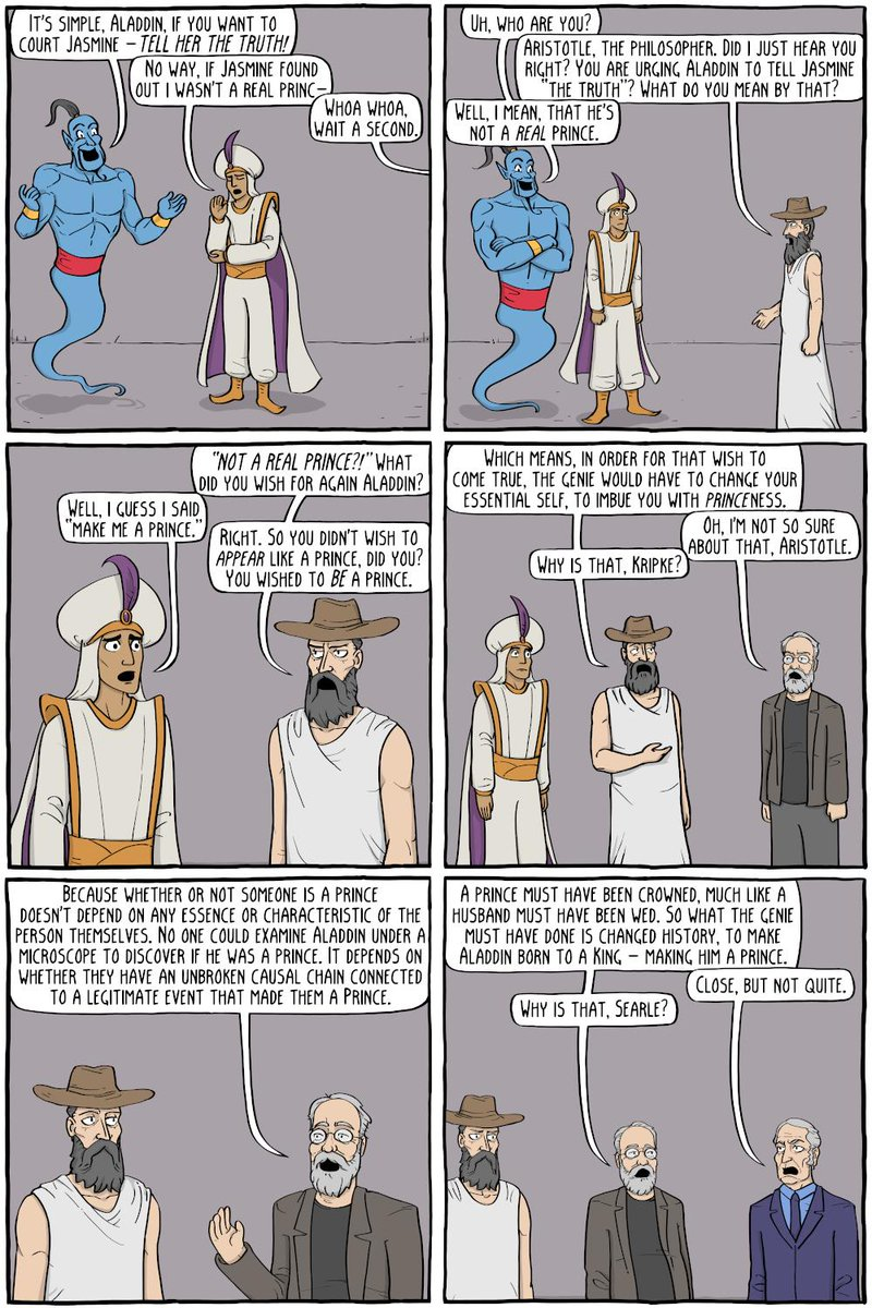 Aladdin&#39;s Wish -  http:// existentialcomics.com/comic/277  &nbsp;  <br>http://pic.twitter.com/sq0nUWBThC