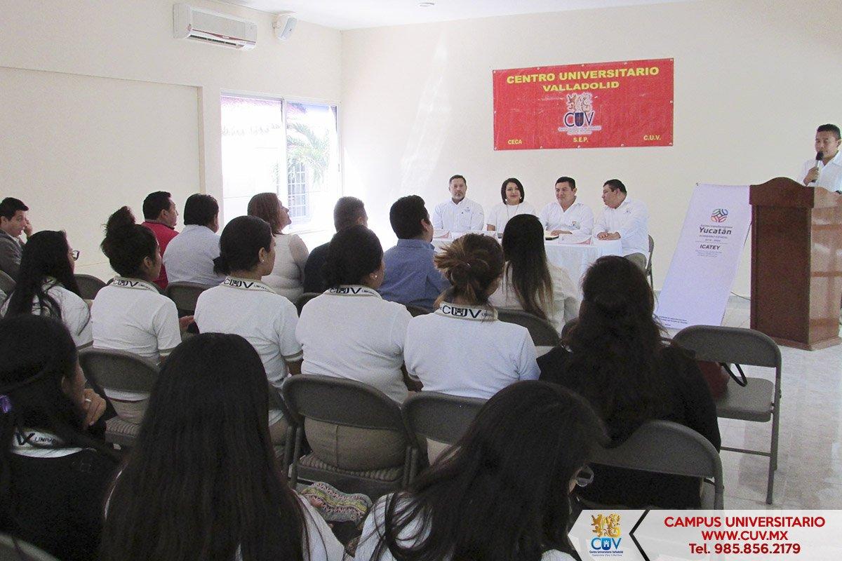 En el CUV se realizó la Firma de Convenio Institucional entre el Instituto  de Capacitación para el Trabajo del Estado de Yucatán (ICATEY) y esta  Universidad ... 0e252d12bbca8