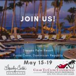 💗🌴 Join us and a network of Real Estate Professionals in Punta Cana in 2019!  Learn more and register at https://t.co/zvDbXcNpqJ