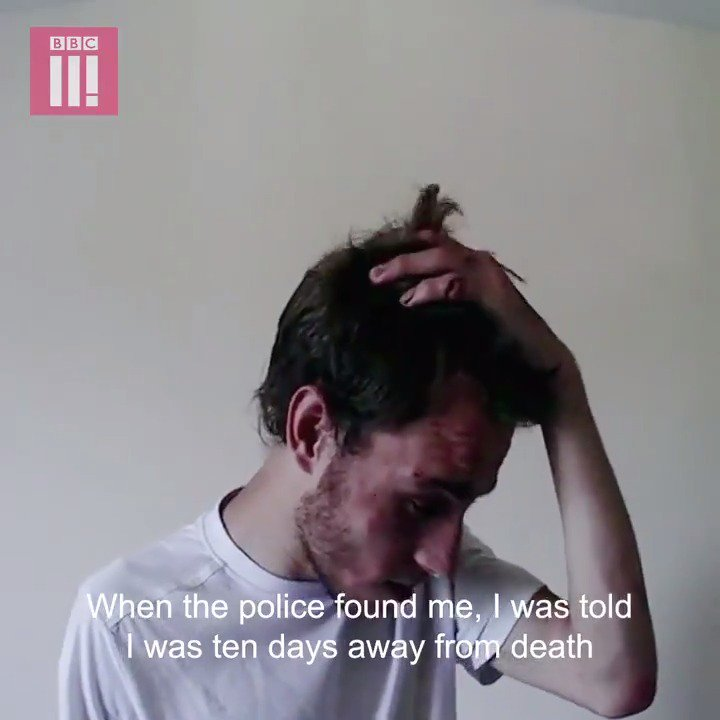 """""""When the police found me, I was told I was 10 days away from death.""""  Alex was mentally and physically abused by his girlfriend Jordan over a three year period."""