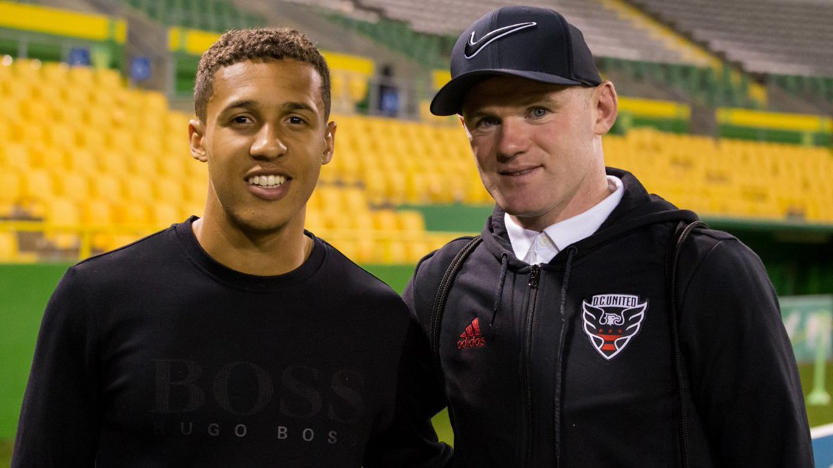 Caleb Richards featured for Tampa Bay Rowdies against Major League Soccer side D.C. United in a pre-season friendly. #ncfc   Read our full loan round-up here ➡️  https://t.co/2ObMV25RQz