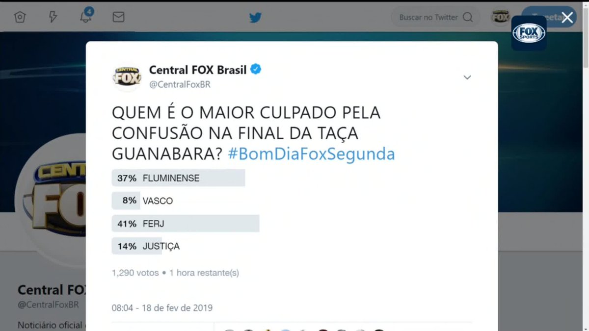 Central FOX Brasil's photo on #bomdiafoxsegunda