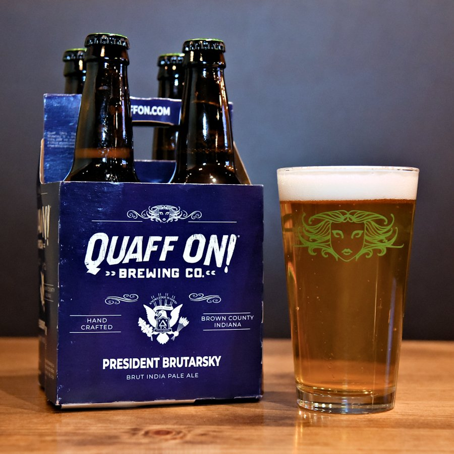 .@BigWoodsRstrnts is offering a Presidents Day special on our President Brutarsky Brut IPA: a four pack and a pint for $9.99! And, if youre really fond of ol Brutarsky, take the opportunity to hop on that soap box and tell the world about it on Untappd!