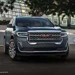 Image for the Tweet beginning: Introducing the new #GMCAcadia #Denali