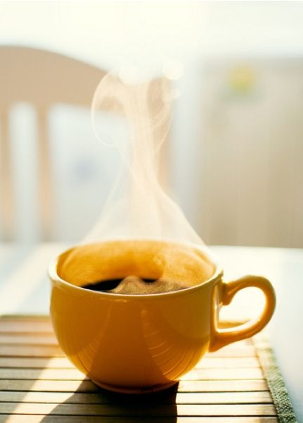 Smell the coffee.  Drink the coffee. Rejoice in the coffee. Do the things.  #MondayMorning #coffee<br>http://pic.twitter.com/03UbPxSxSh