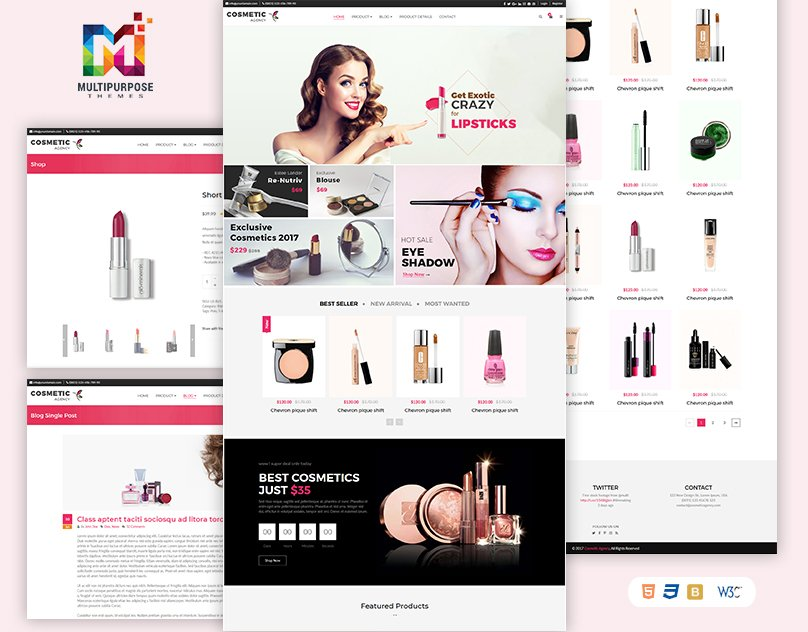 We create the Best Cosmetics HTML Template! Beautiful, Modern, Powerful. - Link:   https://themeforest.net/item/cosmetics-multipurpose-ecommerce-shop-html-template/20112814… - . . #EnvatoMarket #themeforest #business #multipage #bootstrap #html5 #css3 #template #agency #portfolio #business_theme #agency_website_theme #design #elegant