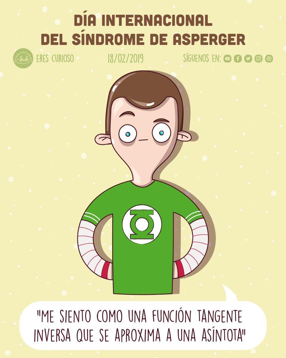 📆 Hoy es el #DiaInternacionalAsperger, un trastorno del desarrollo que se incluye dentro del espectro autista (TEA). Esta fecha es la del nacimiento de Hans Asperger, psiquiatra austriaco que describió por primera vez el síndrome en la década de los 40.  #ilustración #18Feb