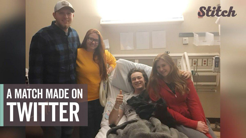 Man dying from kidney failure receives donation from stranger thanks to Twitter https://t.co/imnt7gFxBq