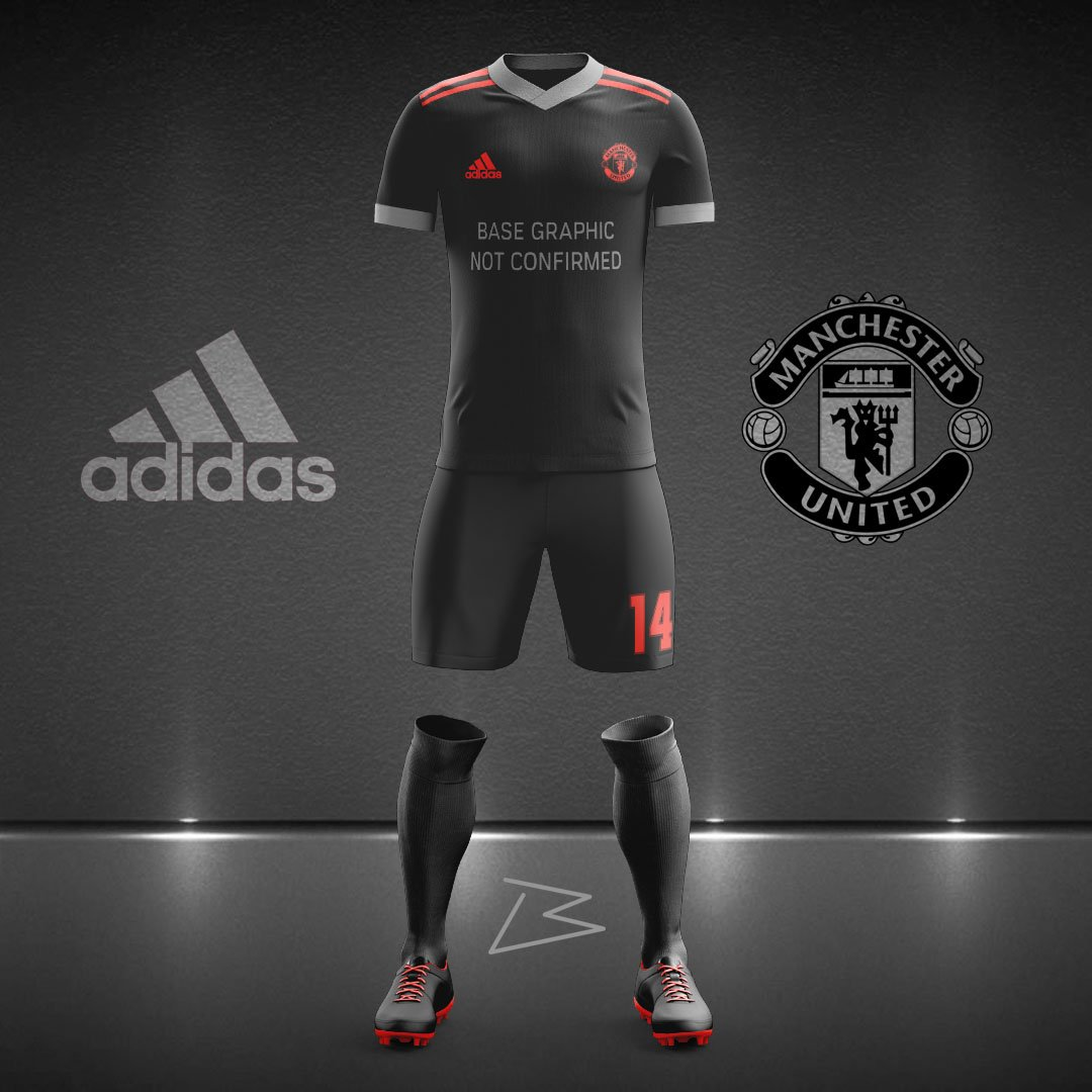 check out 44842 0c796 BMYDesign Man Utd's Third kit for 2019/20 according to ...