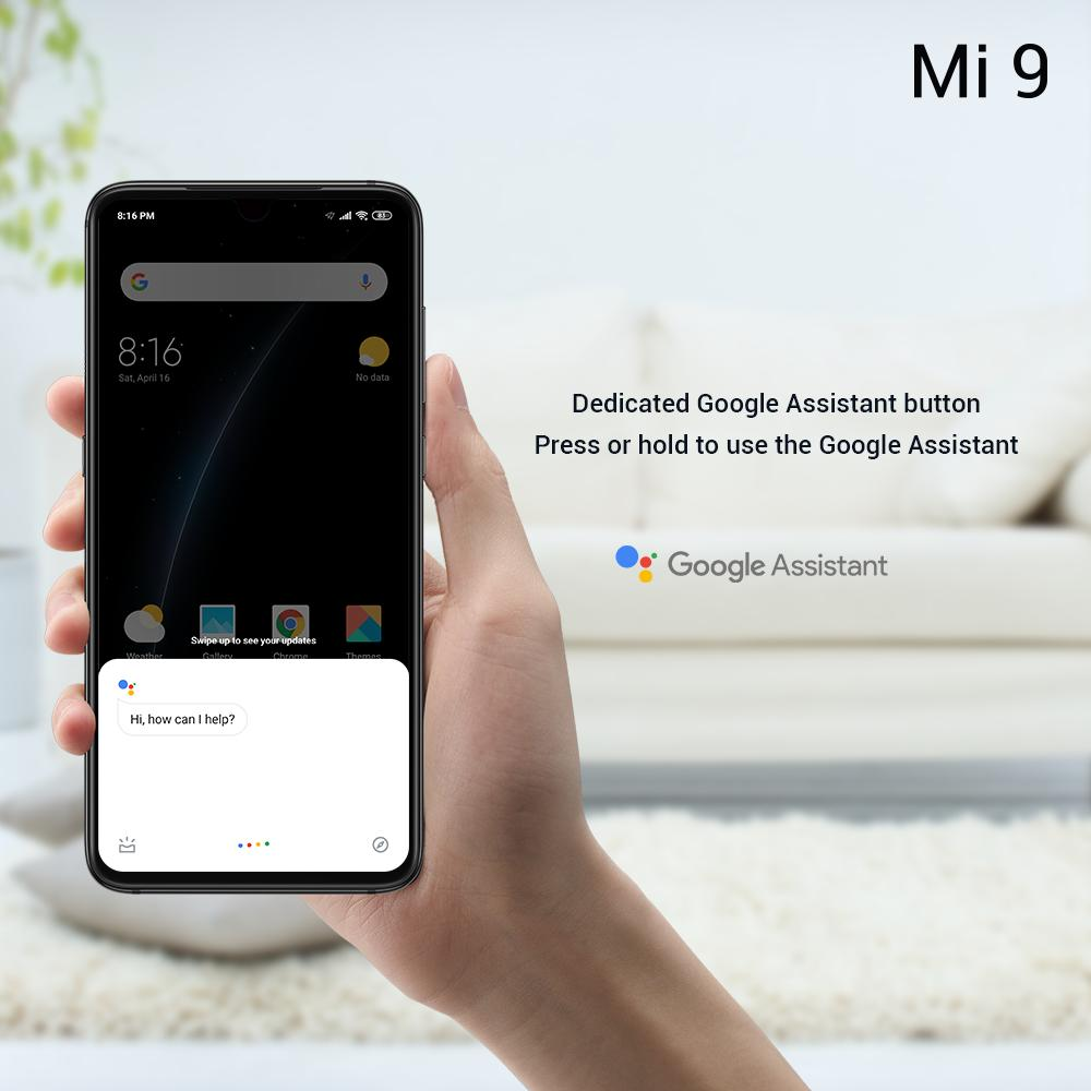 Everything in just one click. RT if you would like the dedicated Google Assistant button of #Mi9! #MakeItHappen