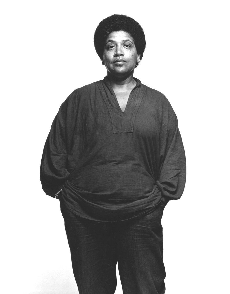 """""""We have to consciously study how to be tender with each other until it becomes a habit."""" Lessons to live by from Audre Lorde born on this day."""