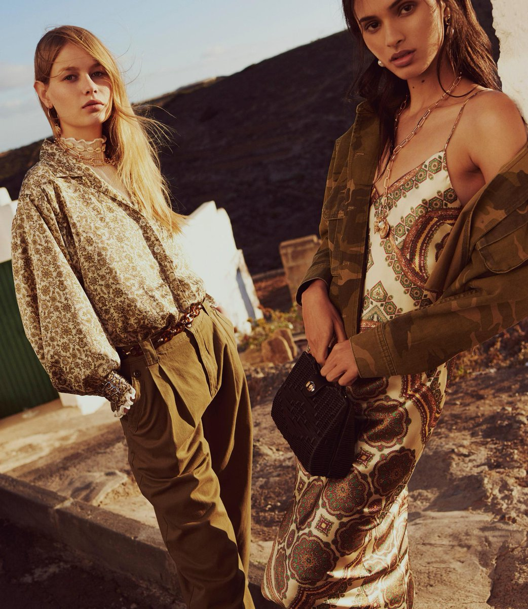 Khaki hues make for perfect golden hour dressing ✨ https://t.co/U5RpJaEBok
