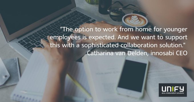 """""""The option to work from home for younger employees is expected. And we want..."""
