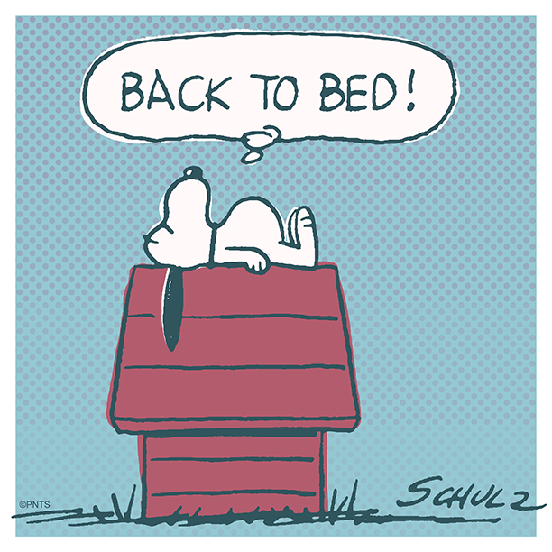 That day off feeling.