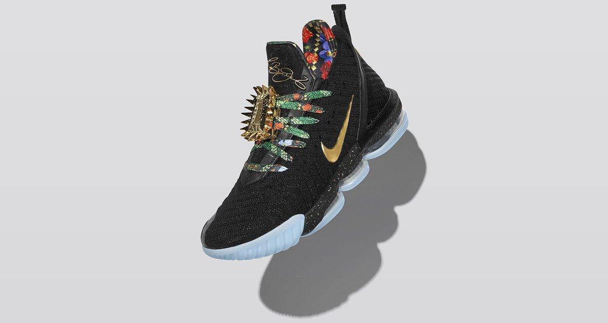release date ba9b6 40db3 ... Nike LeBron 16  King s Throne  Foot Locker Mens http   bit.ly 2Scn3Ha TD http   bit.ly 2TPSI2p  Shoe Palace http   bit.ly 2DLgZ34 Nice ...