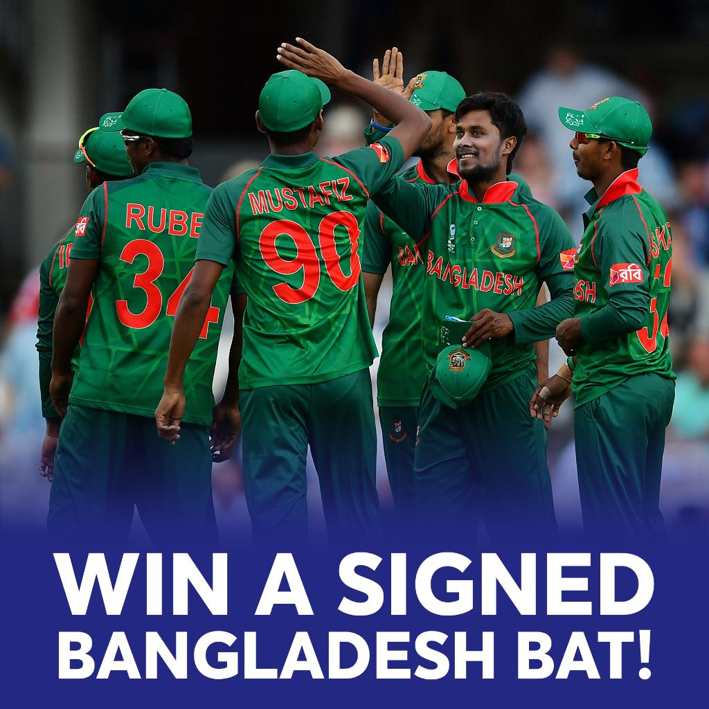 Want to win a signed 🇧🇩 bat?   ENTER THE COMPETITION ⬇️ https://t.co/ngEG8p5s5B