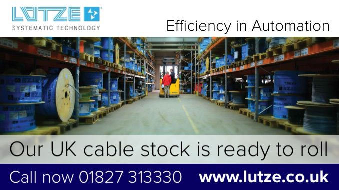 Our cables are ready to roll. Contact Lutze today for the latest prices...