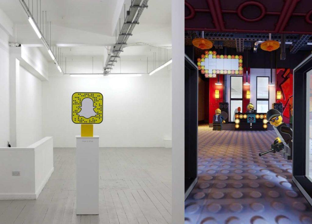 LEGO et Snapchat ouvrent un magasin de vêtements sans vêtements à Londres, un projet axé sur des #Millennials élégants et nostalgiques. https://www.influenth.com/lego-snapchat-vetements/…  @Influenth @LEGO_Group @Snapchat  #SocialMedia #Commerce #RéalitéAugmentée #QRCode #InfluenceMarketing #Lifestyle