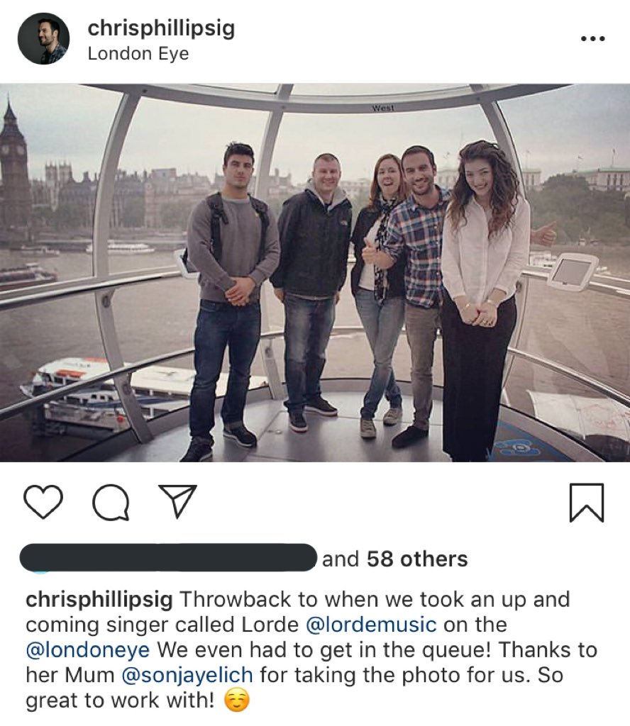 Throwback post by Chris Phillips in London!