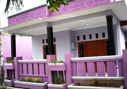 80 Gambar Warna Rumah Tampak Depan Gratis