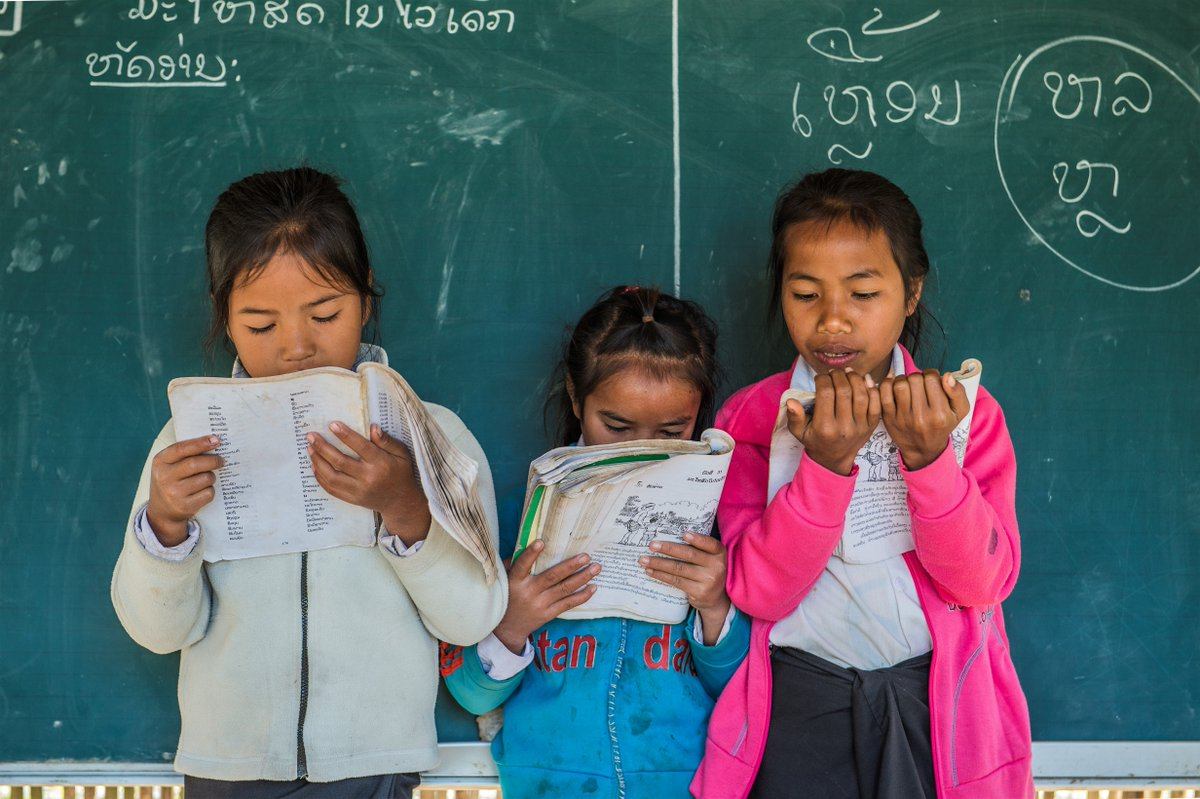 📸 Oudomxay Province, Laos. Monday is back to school day! In Laos, we're helping to establish school gardens to produce the ingredients used for school meals. 🍲🎓📚