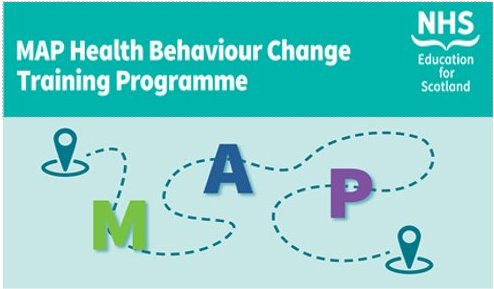 New date released for The MAP of Health Behaviour Change Workshop – 28th March 2019 @ Westport 10am-4.30pm. Join us for another chance to practice using behaviour change skills, increase confidence and share learning. Book now via portal http://bit.ly/2MQ7wf3