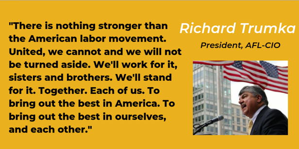 .@RichardTrumka offers some #mondaymotivation to start the new week! @AFLCIO