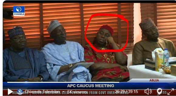 Can you see defeat on their faces ? Their body language speaks it all. You can only postpone the funeral you can't wake the dead. #BuhariMustGo <br>http://pic.twitter.com/cEuE3GPQ3G
