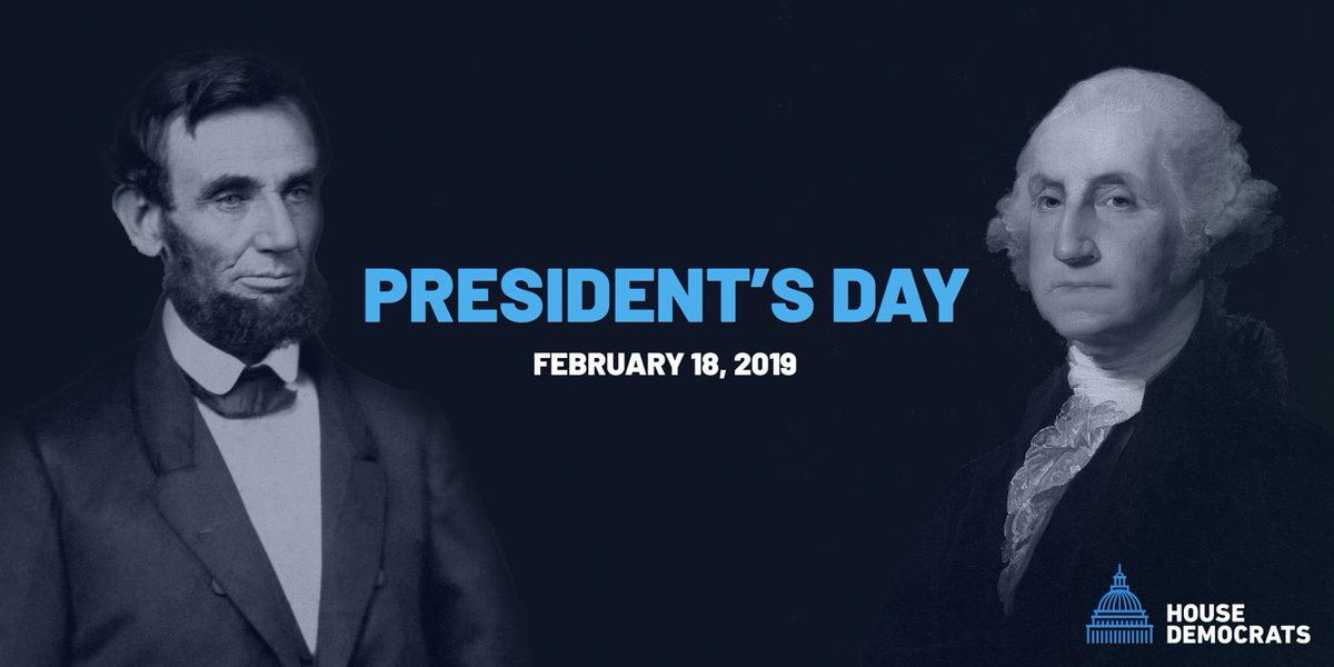 This #PresidentsDay, we celebrate George Washington and Abraham Lincoln who helped shape our country with vision and integrity.