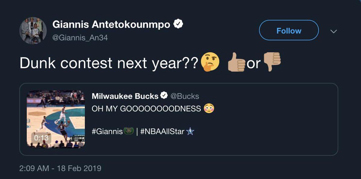 Next year's contest just got interesting 🍿  #ATTSlamDunk
