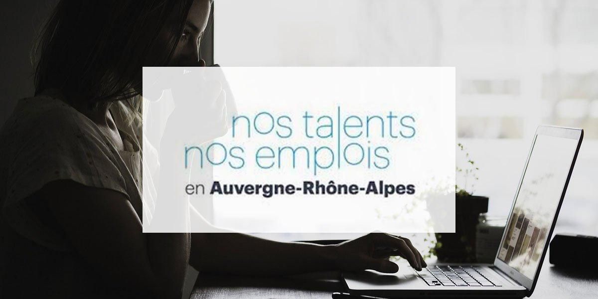 À la recherche de votre futur(e) #stagiaire ?  La Région @auvergnerhalpes met à disposition sa CVthèque !  Votre prochain talent se trouve peut-être parmi les 170 profils à la recherche de stage. 💼 À découvrir sur « nos talents, nos #emplois » 🔍  https://t.co/MOiHVMSXlQ https://t.co/nWWuhNqvUH