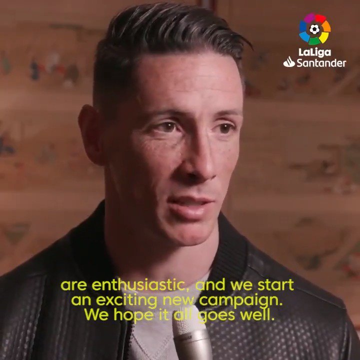 """Fernando @Torres on his Japanese adventure: """"The potential in the country is enormous."""" ⚽🇯🇵"""