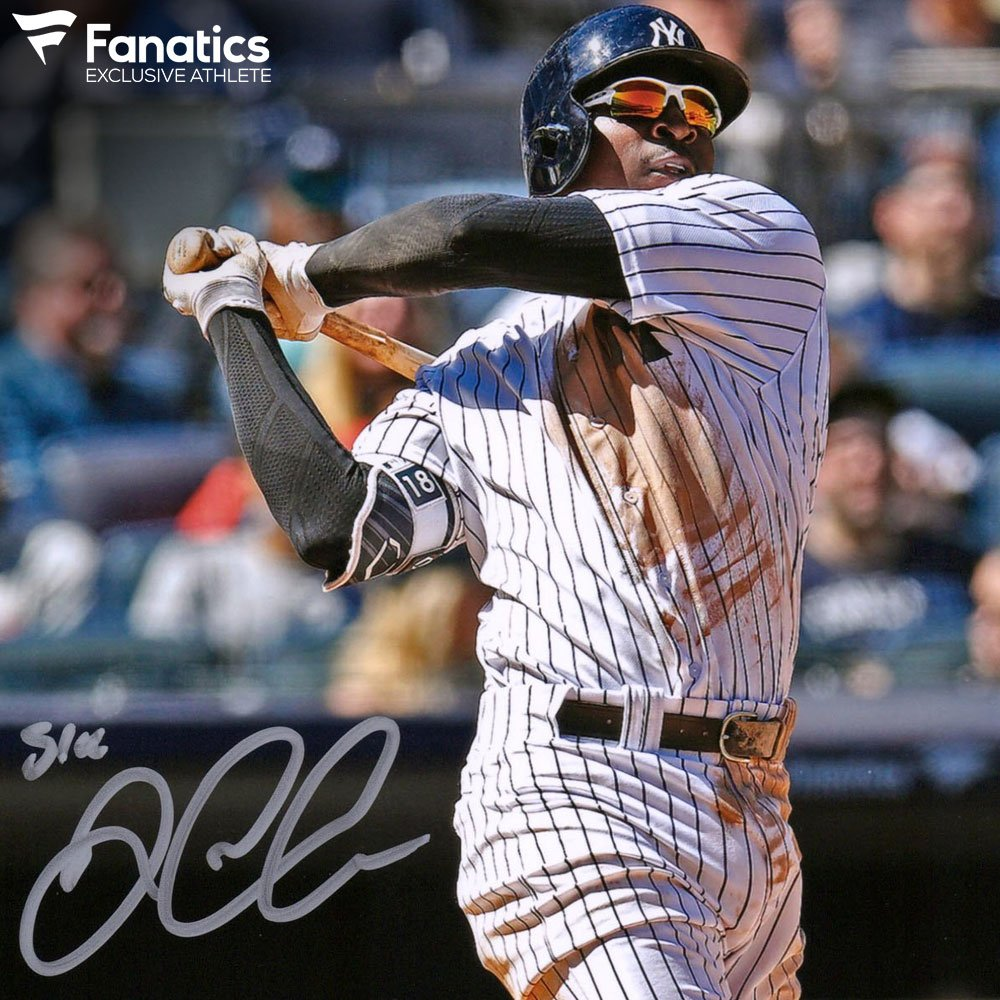 Happy birthday #FanaticsExclusive athlete @DidiG18! The @yankees SS turns 29 today. We can't wait for #SirDidi to get back healthy this season. #PinstripePride