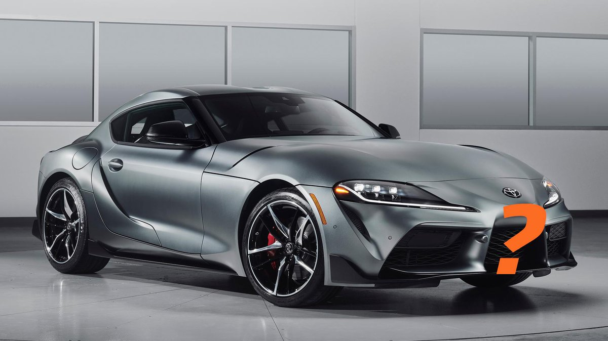 Where are you going to put a front plate on a 2020 Toyota Supra? http://jalo.ps/CsGurkh