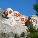 Image for the Tweet beginning: Happy #PresidentsDay from Mount Hootmore